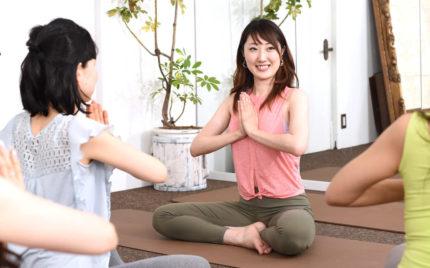 やさしい先生美容と健康ヨガ教室スタジオ広島【インストラクター】質問