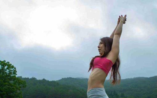広島の【美容と健康ヨガ教室スタジオ】初心者やさしいヨガ体験